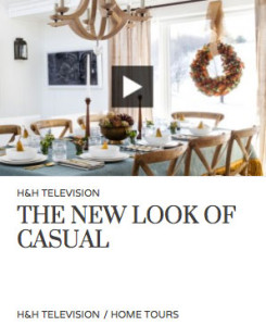 House & Home Magazine – The New Look Of Casual