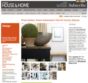 House & Home Magazine Photo Gallery